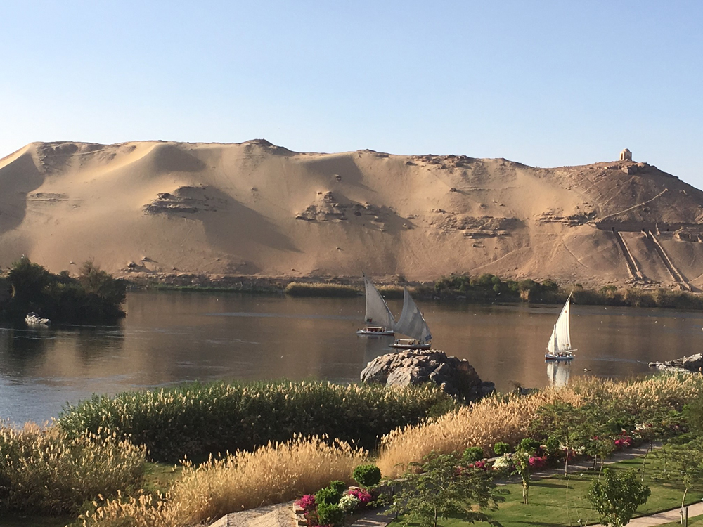 Emma Cottis - Felucca Sailing on the Nile, Egypt