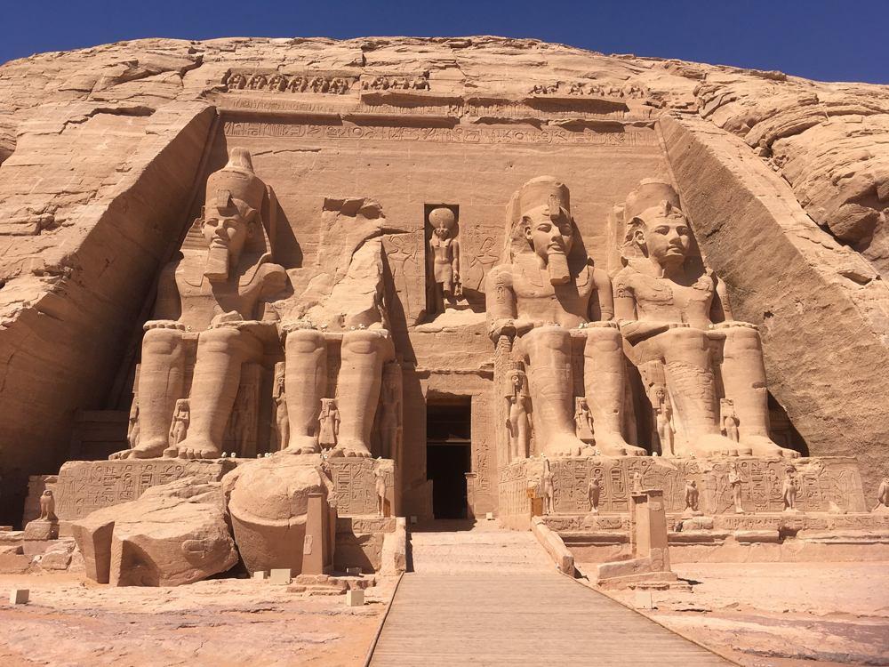 Emma Cottis - No crowds at Abu Simbel, Egypt