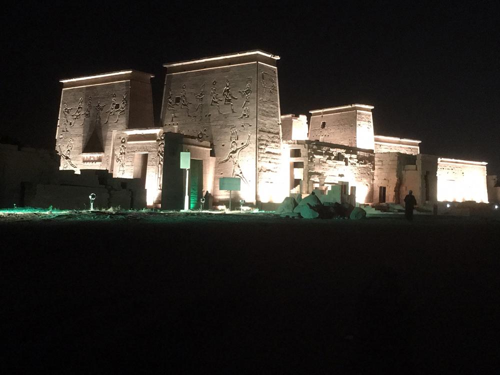Emma Cottis - Philae Temple Sound and Light show2, Egypt