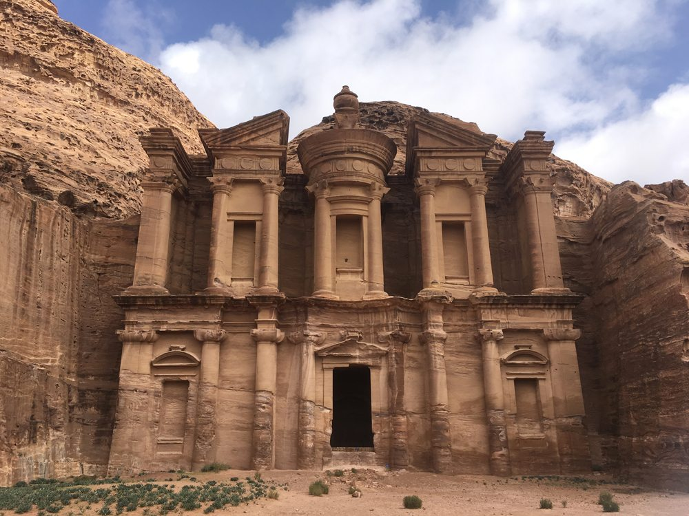 Emma Cottis - The Monastery at Petra, Jordan