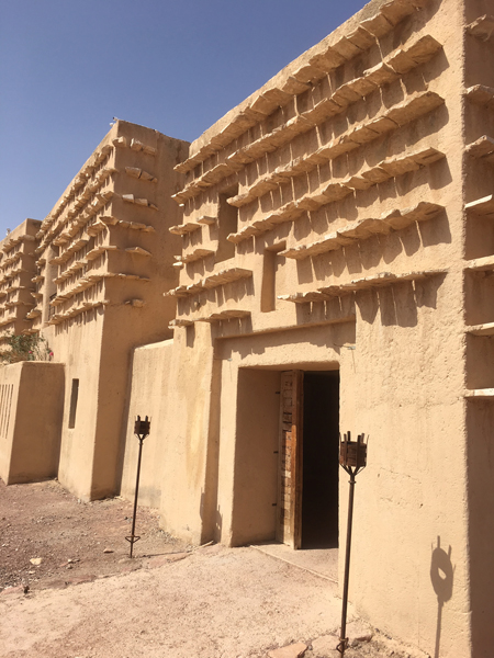 Emma Cottis - Unique cooling system of Feynan Ecolodge, Jordan