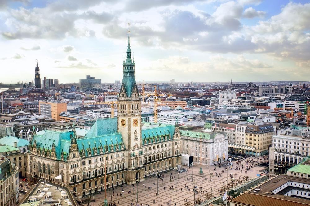 Hamburg City Hall (Rathaus), Germany
