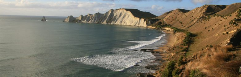 Janie Robinson - Cape Kidnappers Dramatic Coastline, New Zealand