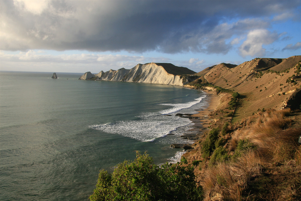 Janie Robinson - Cape Kidnappers Dramatic Coastline, New Zealand