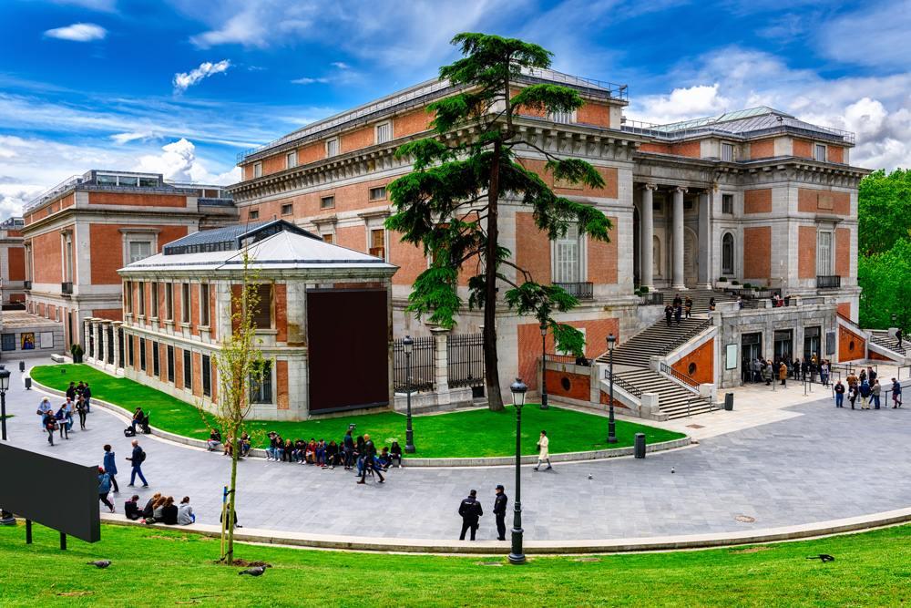Museo Nacional del Prado (Prado Museum) in Madrid, Spain