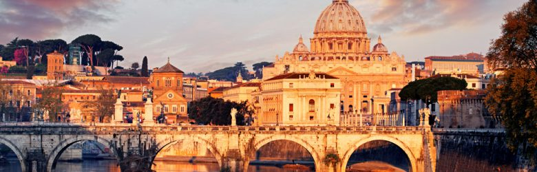 Vatican City with St. Peter's Basilica, Italy
