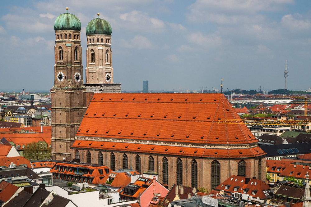 Cathedral of Our Dear Lady (Frauenkirche) in Munich, Germany