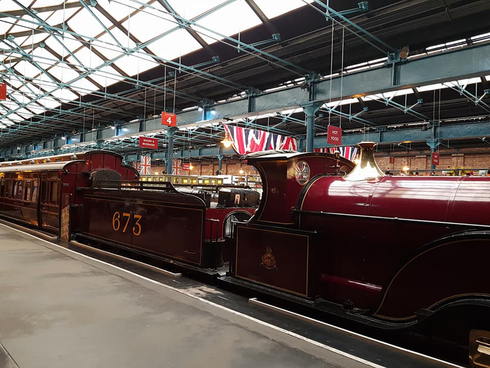 Christian Baines - British Rail Museum, York, England, UK (United Kingdom)