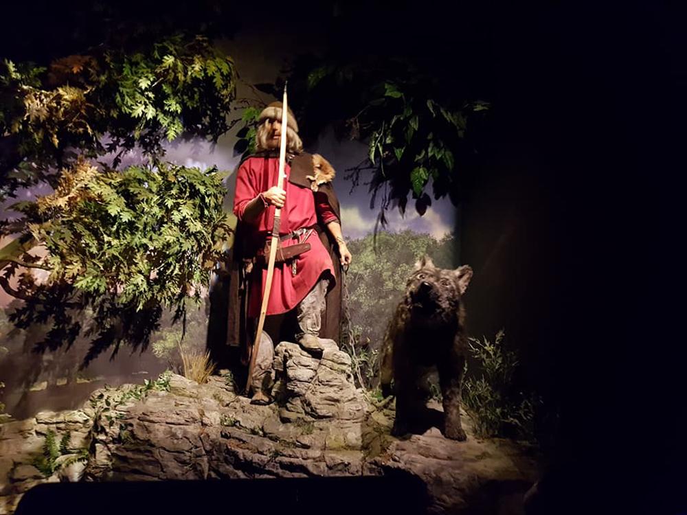 Christian Baines - Display at Jorvik Viking Centre, York, England, UK (United Kingdom)
