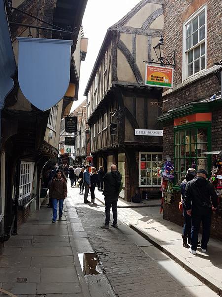 Christian Baines - The Shambles medieval street, York, England, UK (United Kingdom)