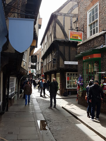 Christian Baines - The Shambles medieval street, York, England, UK (United Kingdom)