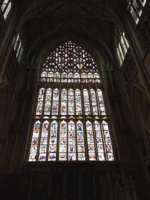 Christian Baines - York Minster's stain glass window, York, England, UK (United Kingdom)