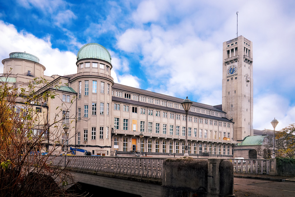 Deutsches Museum, the world's largest museum of science and technology, Munich, Germany