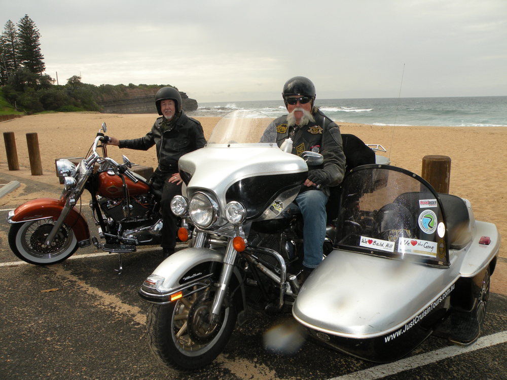 Janie Robinson - Cruise down Grand Pacific Drive on a Harley with Just Cruisin' Motorcycle Tours, New South Wales, Australia
