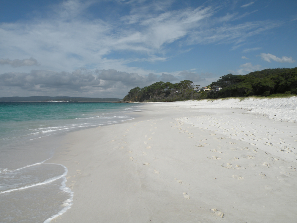 Janie Robinson - Jervis Bay's famous white sand beaches along the South Coast stretch, New South Wales, Australia