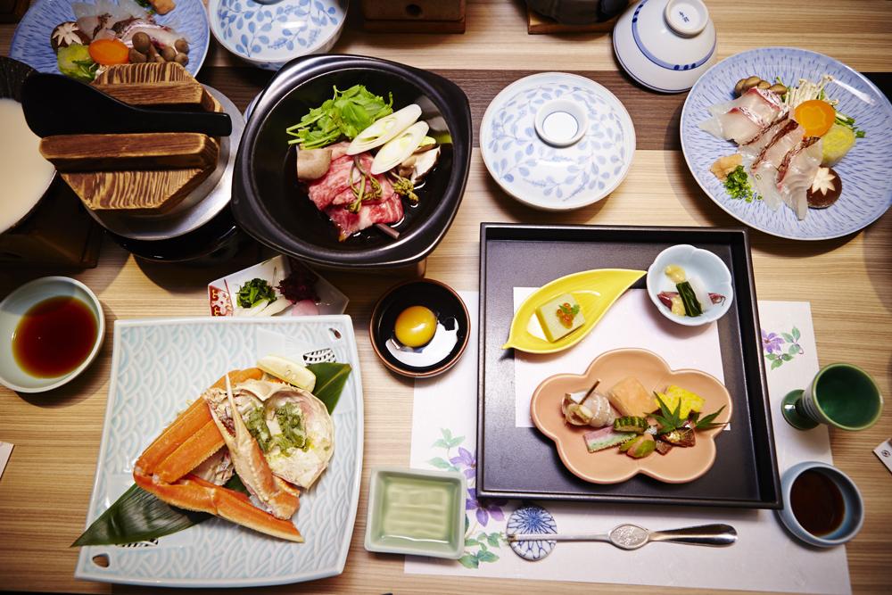 Kaiseki, a traditional Japanese meal, Japan