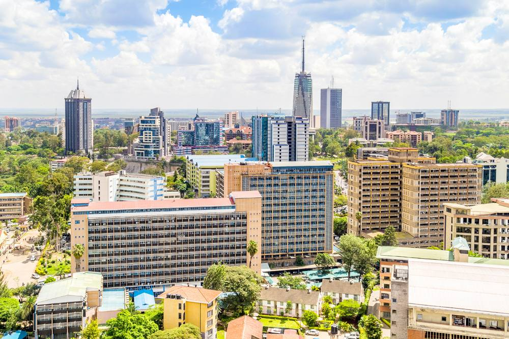 Nairobi city centre, Kenya