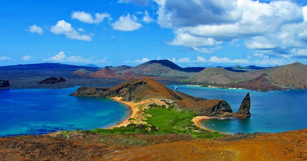 Pinnacle Rock, Island of Bartolome, Galapagos Islands, Ecuador