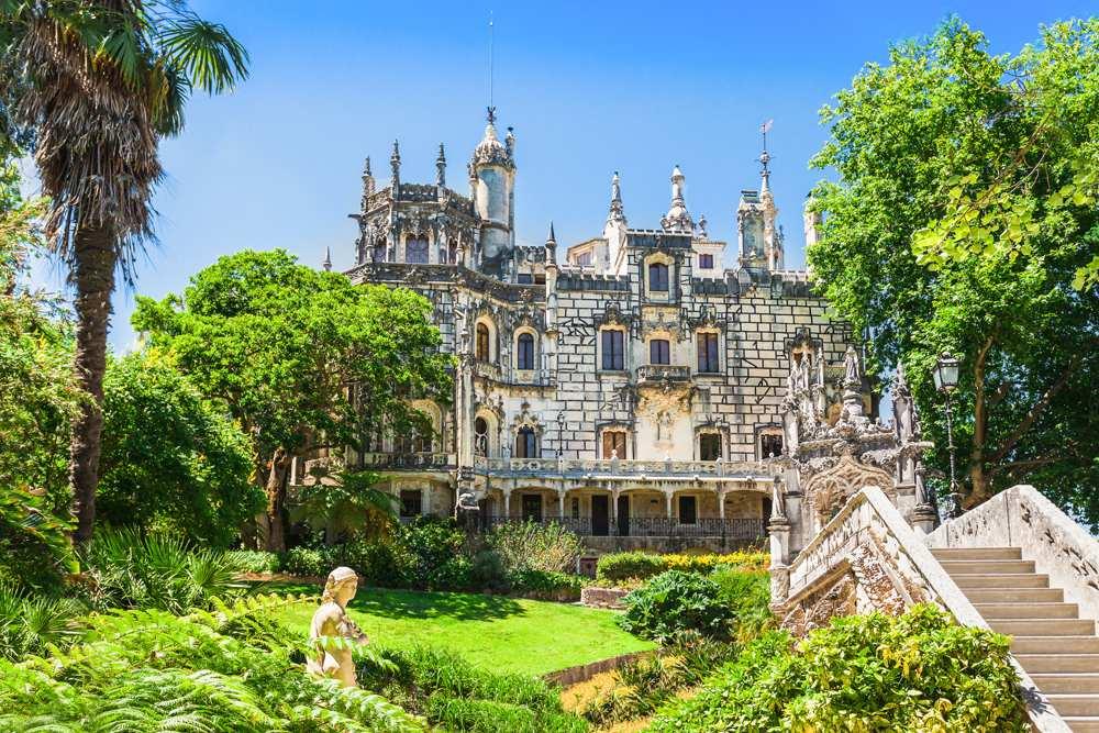 Regaleira Palace (Quinta da Regaleira), Sintra, Portugal