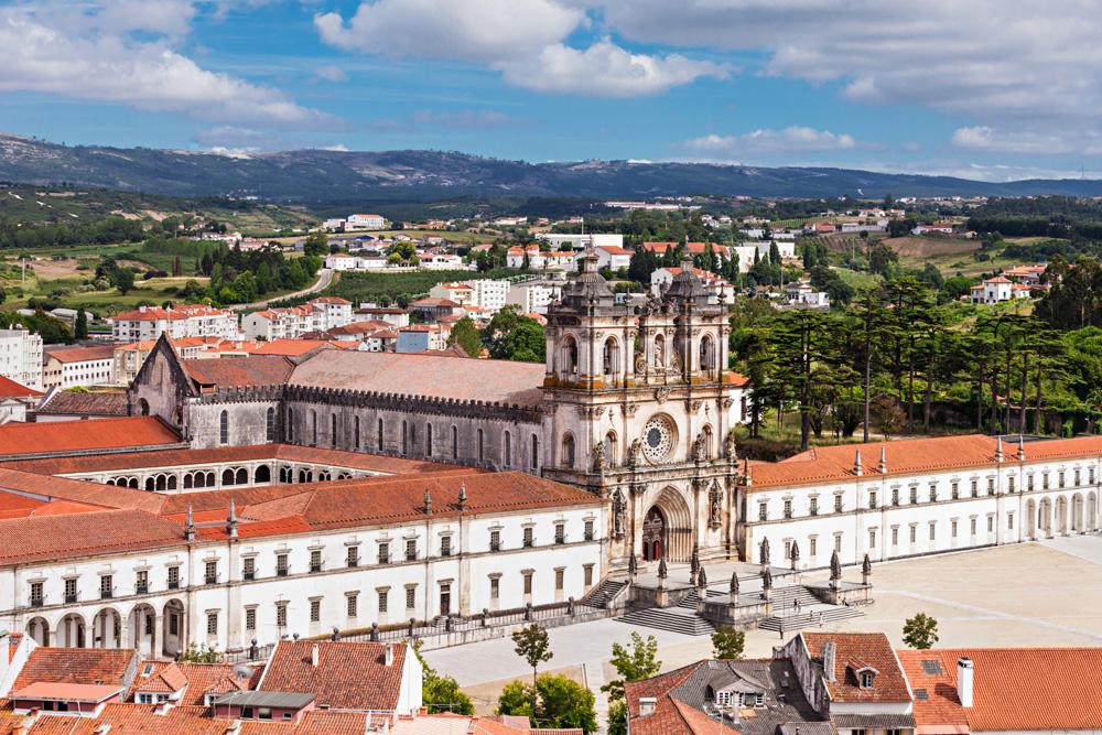 Alcobaca Monastery in Alcobaca, Portugal