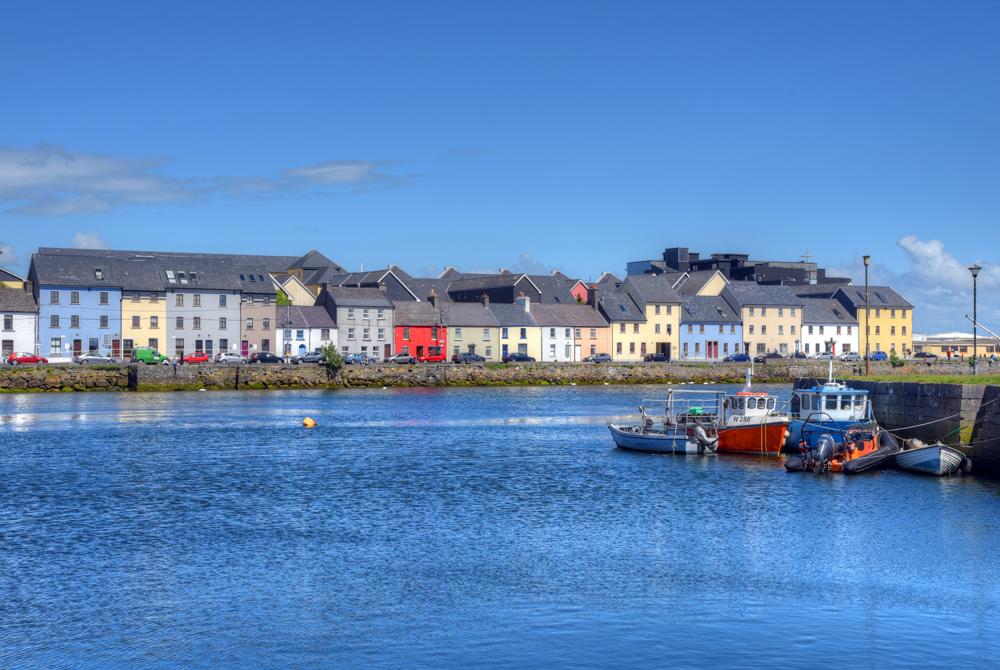 Claddagh Galway in Galway, Ireland