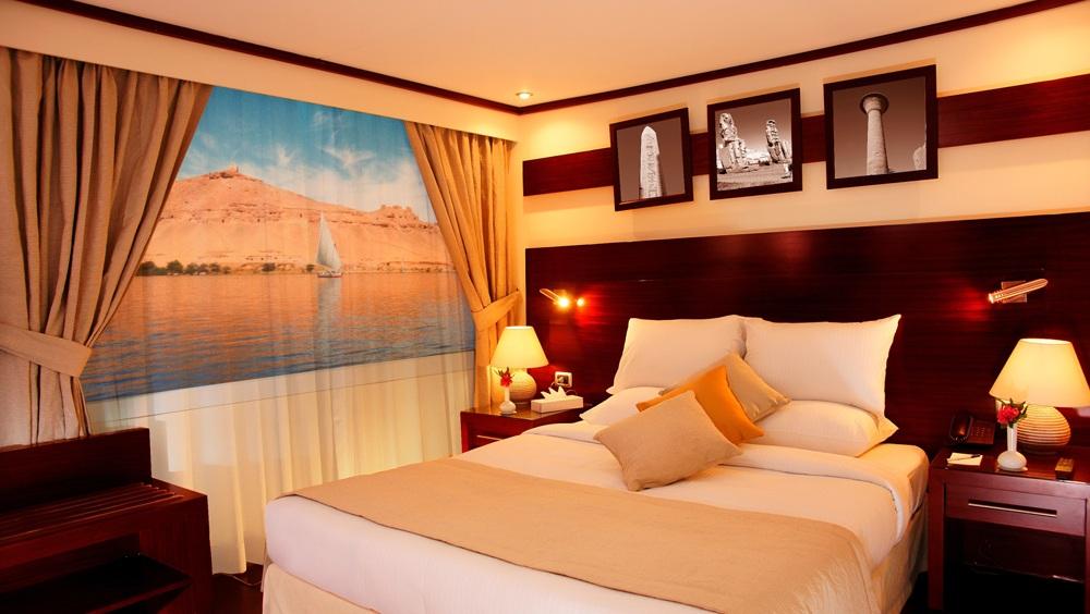 Creative om Kolthoum Dahabiya double cabin, Egypt