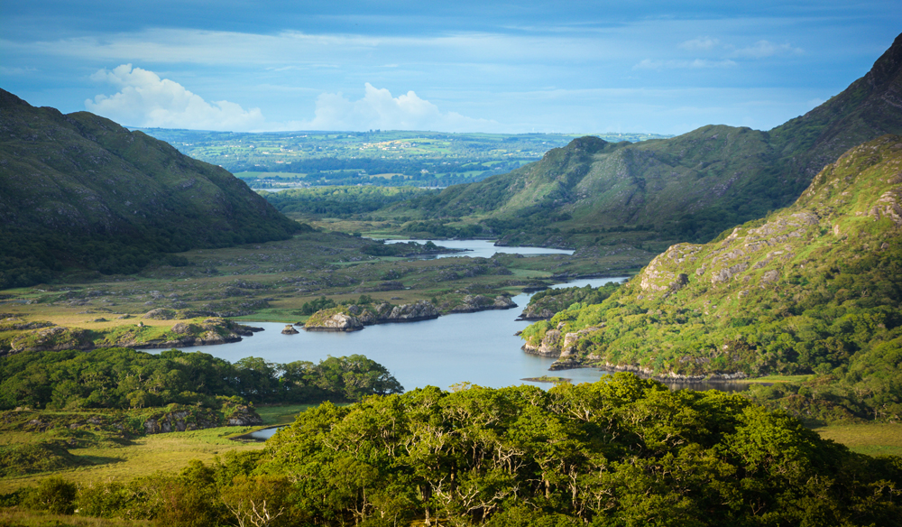 Famous Ladies View, Ring of Kerry, Ireland
