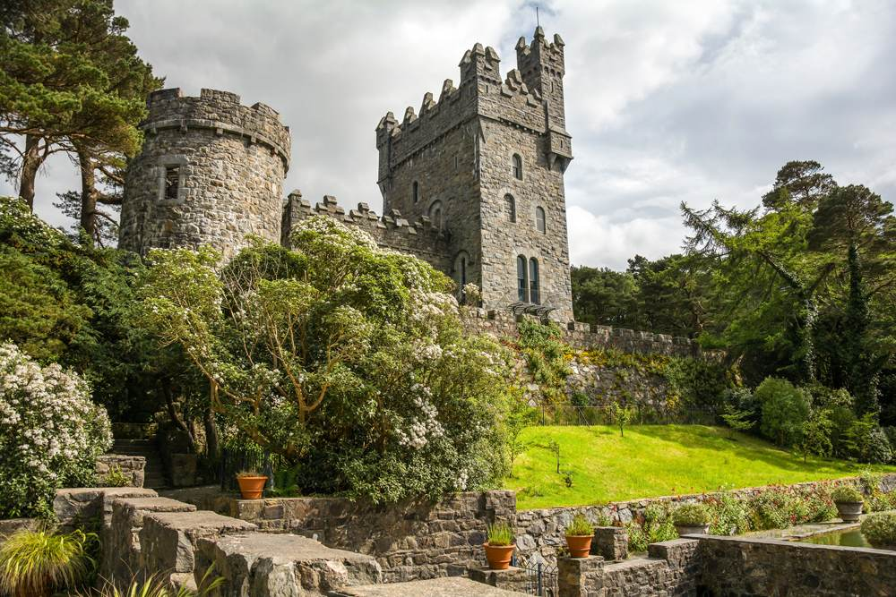 Glenveagh Castle in Donegal, Ireland