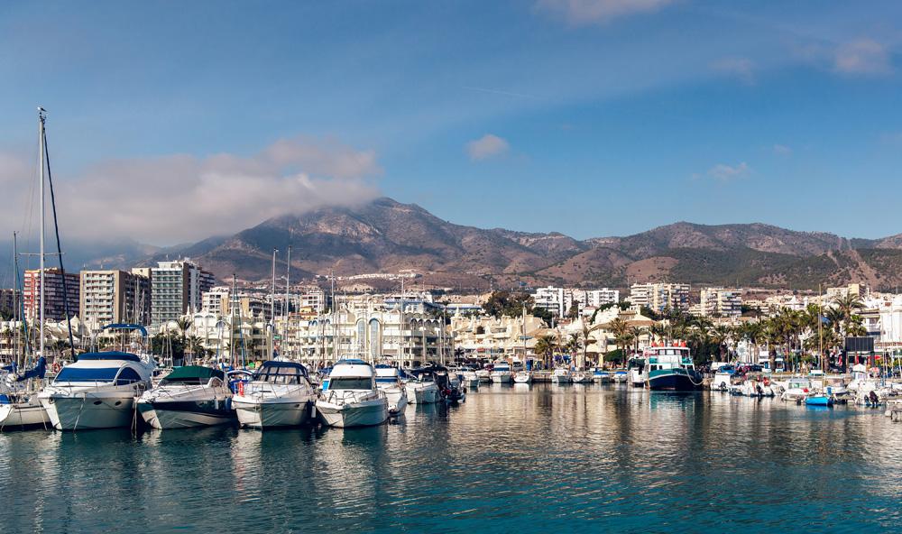 Puerto Marina in Benalmadena, Costa del Sol, Spain