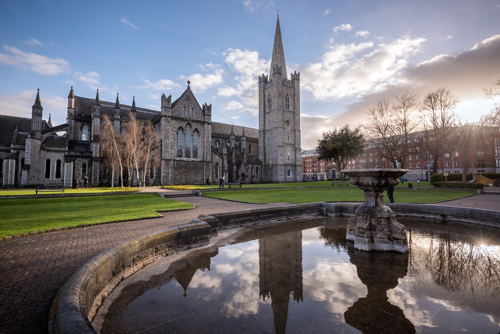 St Patrick's Cathedral, Dublin, Ireland