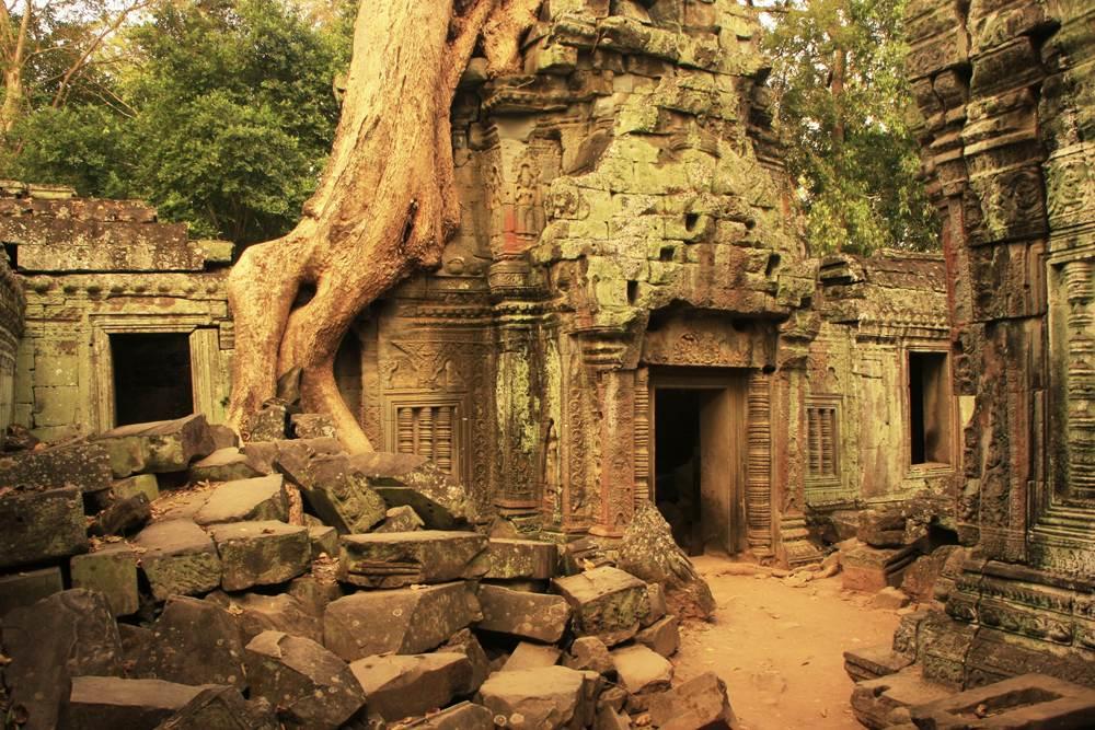 Ta Promh temple, Angkor, Siem Reap, Cambodia