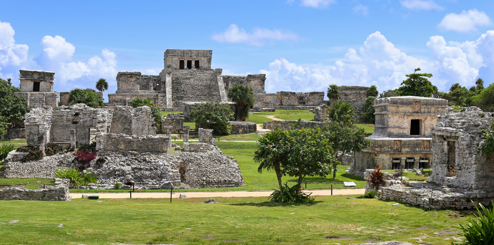 Tulum Mayan ruins, Tulum, Mexico