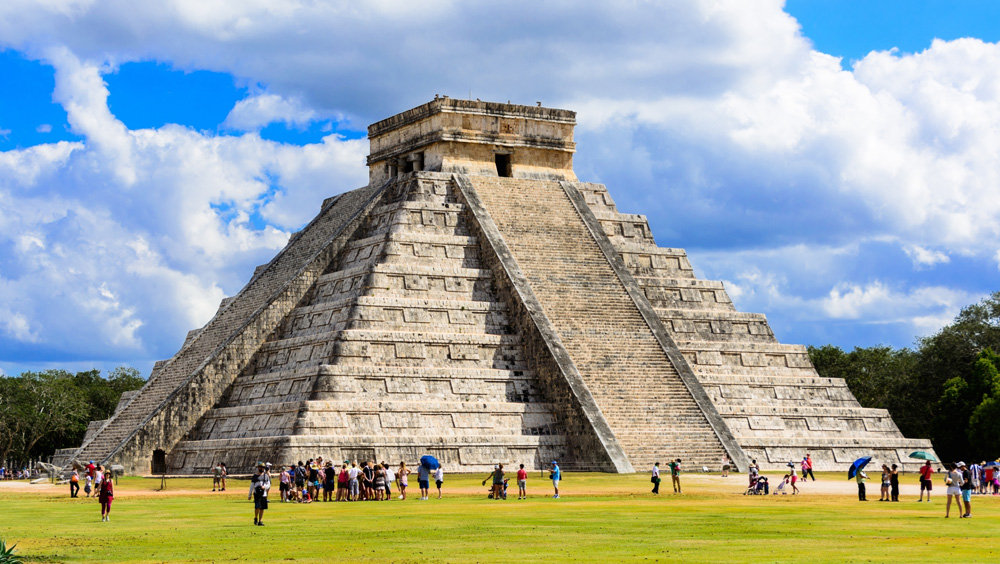 Chichen Itza in the Yucatan Peninsula, Mexico