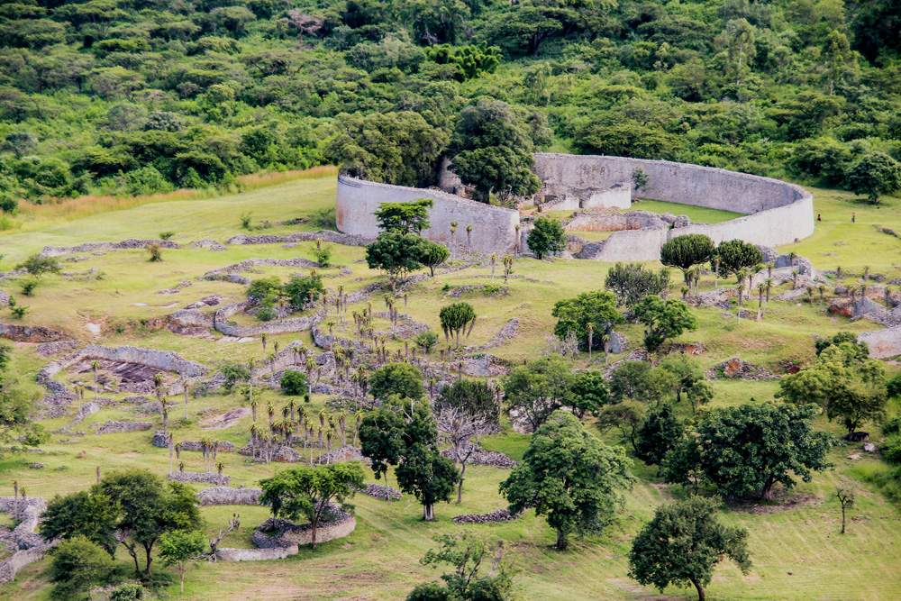 Great Zimbabwe Ruins near Masvingo in Zimbabwe