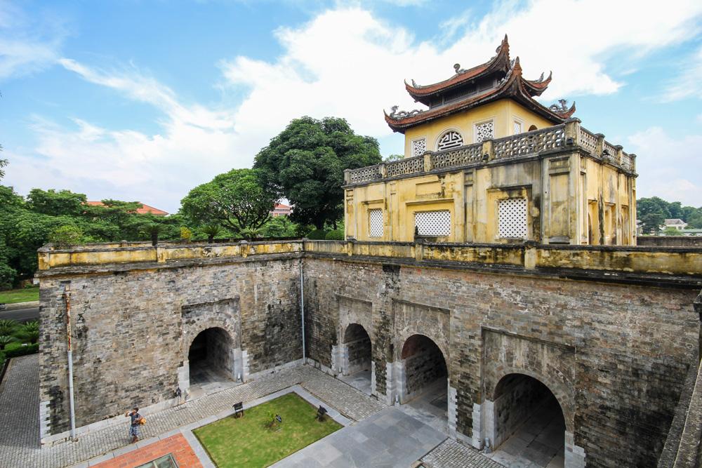 Imperial Citadel of Thang Long in Hanoi, Vietnam