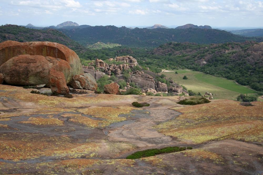 Matobo National Park landscape, Zimbabwe