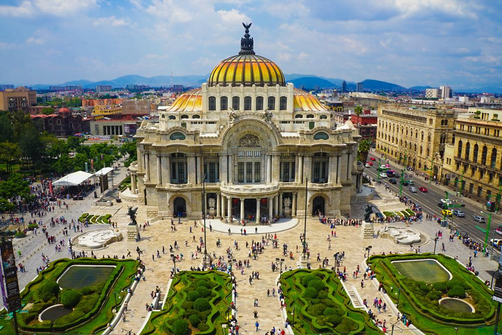 Palace of Fine Arts, Mexico City, Mexico