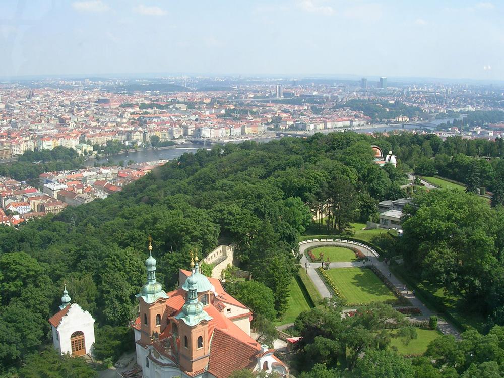 Petrin Hill in Prague, Czech Republic