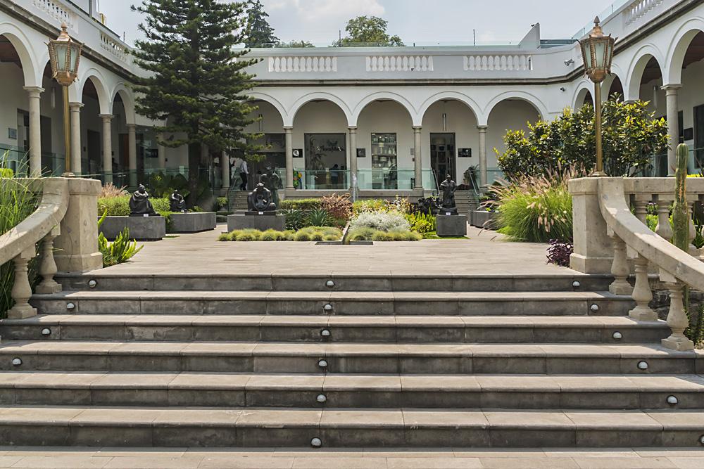 Plaza Villa San Jacinto in the San Angel neighborhood of Mexico City, Mexico