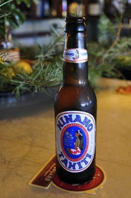 Bottle of Hinano Beer, Tahiti