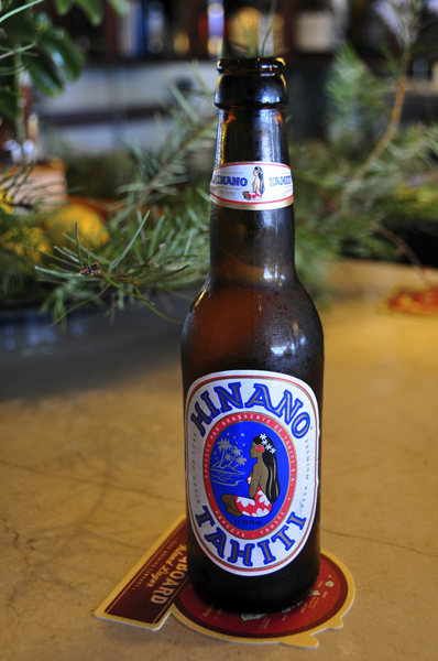 Bottle of Hinano Beer, Tahiti
