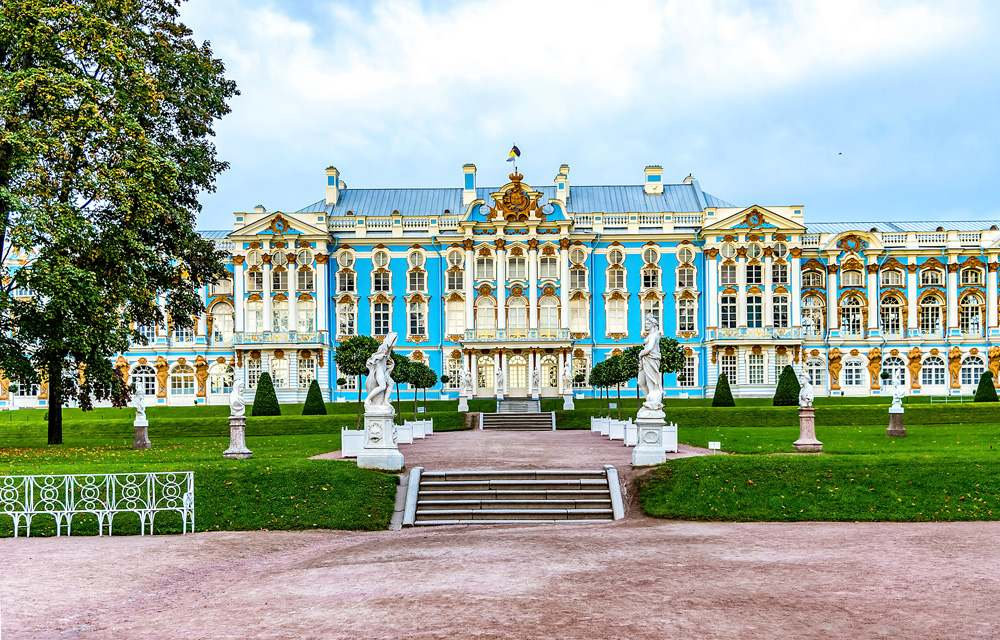 Catherine Palace in Pushkin, St Petersburg, Russia