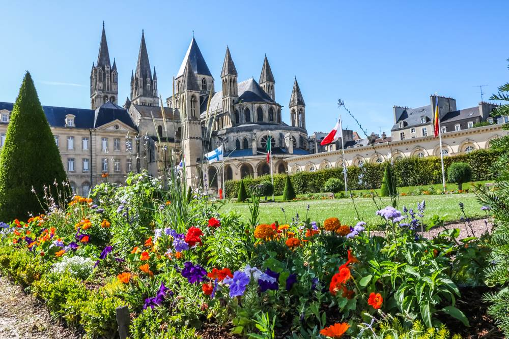 Church of Saint Etienne in Caen, Normandy, France