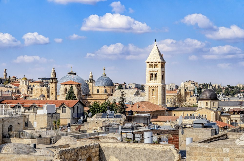 Church of the Holy Sepulchre in the Christian Quarter, Jerusalem, Israel