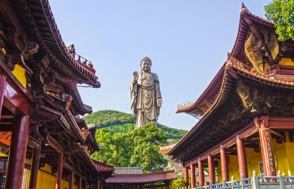 Grand Buddha of Lingshan in Wuxi, China