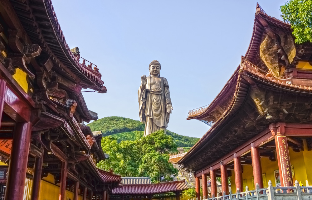 Grand Buddha of Lingshan in Wuxi, China