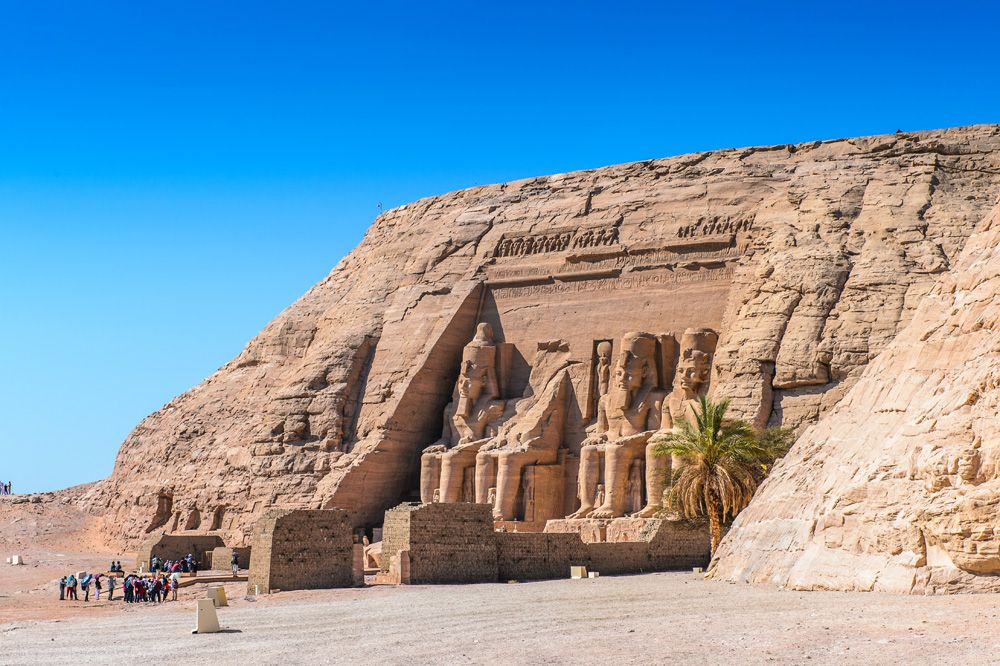 Great Temple of Ramesses II, Abu Simbel, Egypt