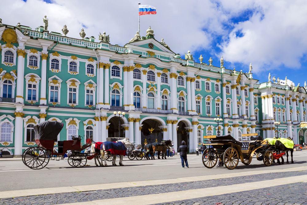 Hermitage Museum in St Petersburg, Russia