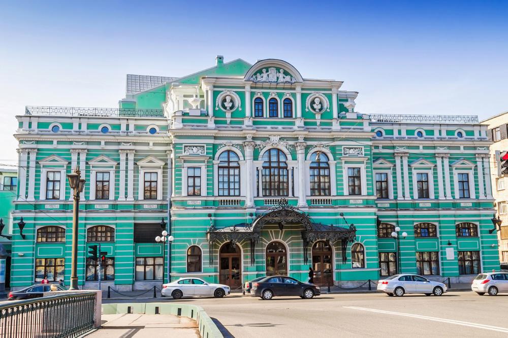 Mariinsky Theatre in St Petersburg, Russia