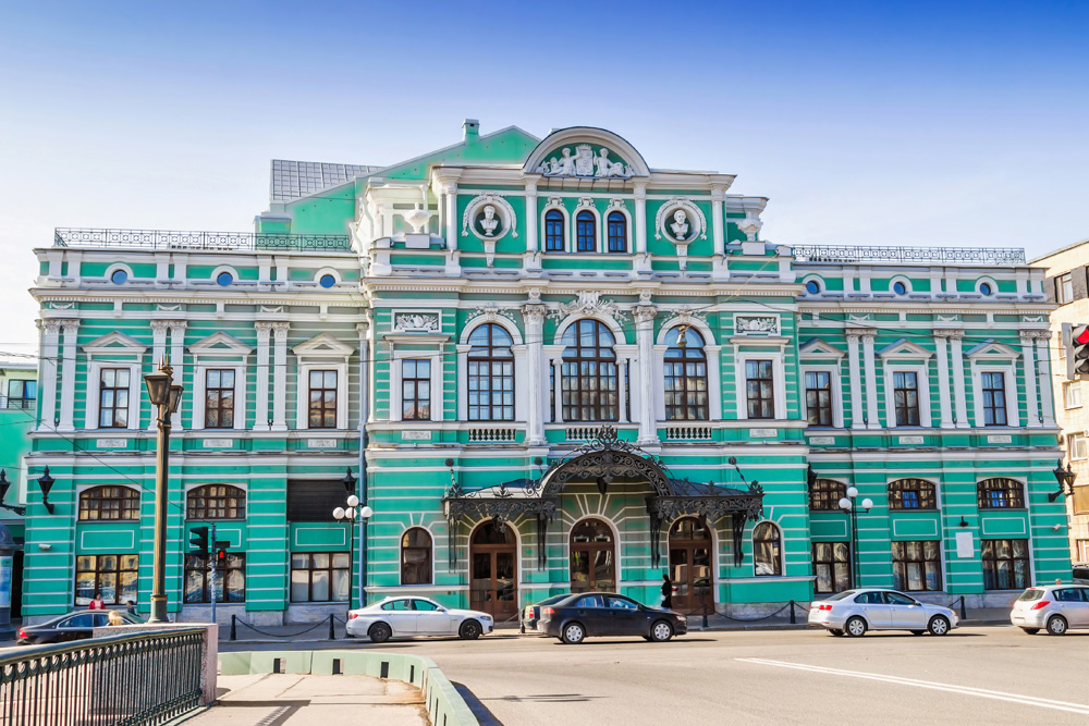 Mariinsky Theatre in St Petersburg, Russia